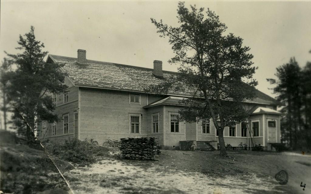 Soihtula lisäosan valmiistumisen  vuonna 1939 jälkeen