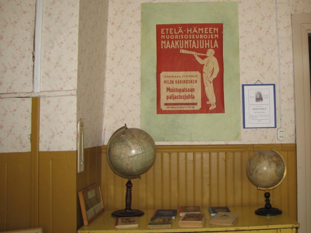 Maakuntajuhla juliste 1940 ja tiedote Hildan muistotilaisuudesta 1912