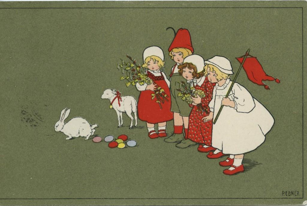 Kortin tekstissä on päiväys 5.4.1912 ja se on lähetetty Hilja Lampiselle Porlammille